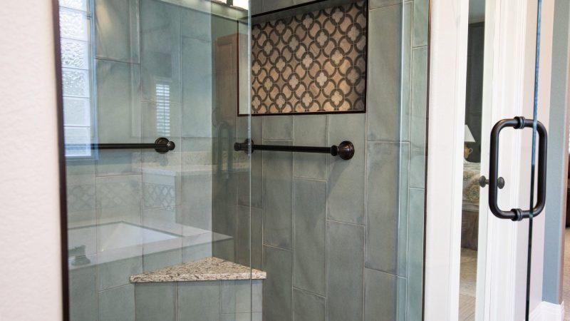 Glass Shower Door at home
