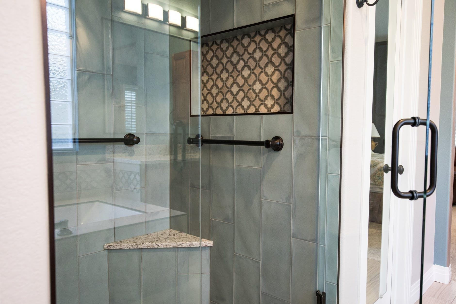 Glass Shower Door at home