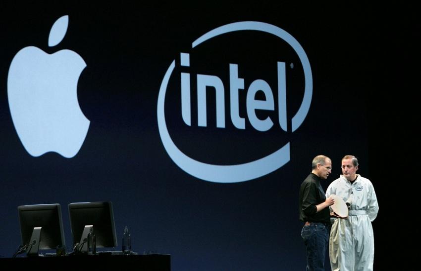 apple dropping intel