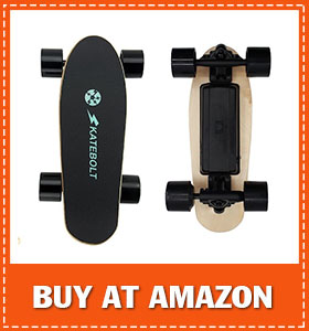SKATEBOLT Electric Skateboard Mini Fashion Gift S5 Motorized Skateboard with Remote Control
