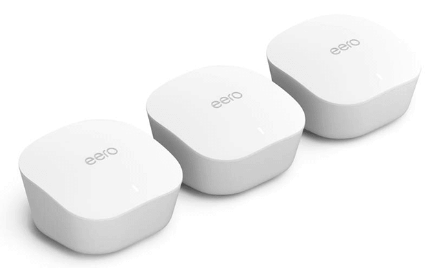 Amazon eero mesh WiFi system – router replacement for whole-home coverage (3-pack)