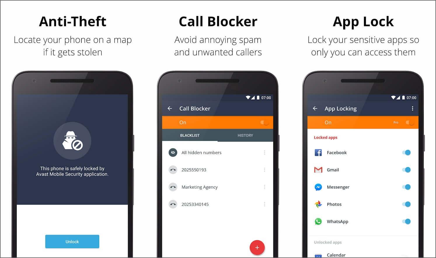 Avast App Lock