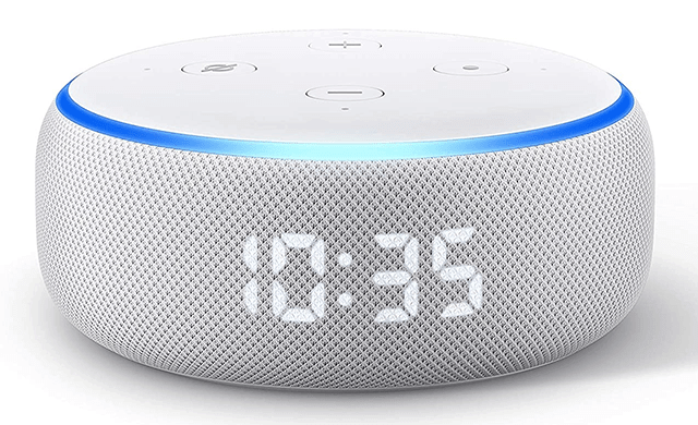 Echo Dot (3rd Gen) - Smart speaker with clock and Alexa - Best Amazon Tech Products
