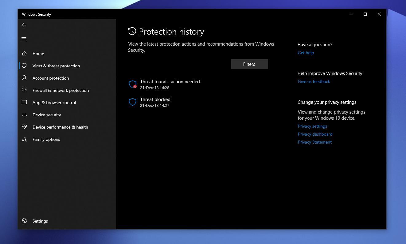 Using Microsoft Defender Offline