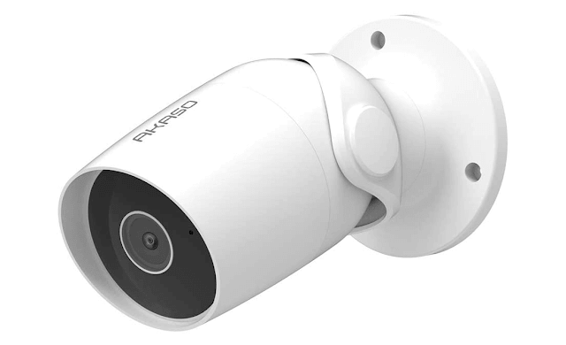 AKASO Outdoor Security Camera 1080P, Wireless Outdoor WiFi Security Cameras for Home Security