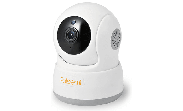 Faleemi HD Pan Tilt Wireless WiFi IP Camera, Indoor Security Video Surveillance Camera with Cell Phone App and Sound, Two Way Audio, Night Vision, for Home Elder Office Pet Monitor FSC776W