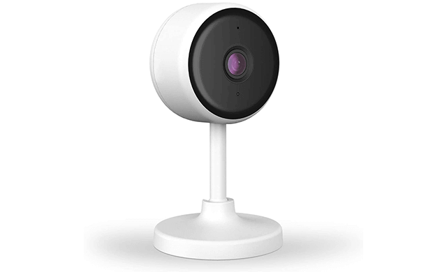 Littlelf Indoor Home Security Camera, 1080P WiFi Camera with Night Vision, 2 Way Audio, Motion Detection, Plug-in Smart Camera for Pet Elder Baby Monitor, Cloud & SD Card Storage Works with Alexa