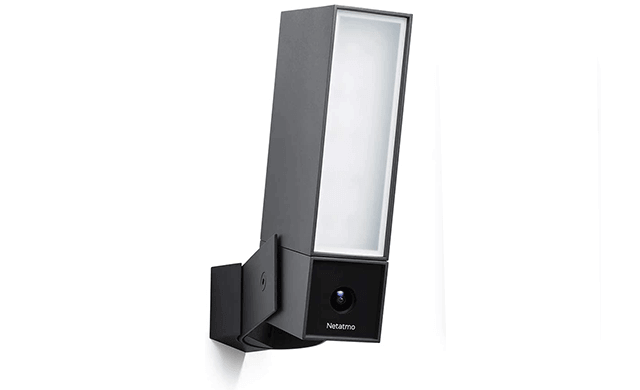 Smart Outdoor Security Camera with Integrated floodlight - NOC01-US