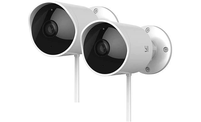 YI Outdoor Security Camera 2pc, 1080P 2