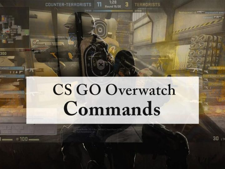CS GO Overwatch Commands | How To Open the Command Console?