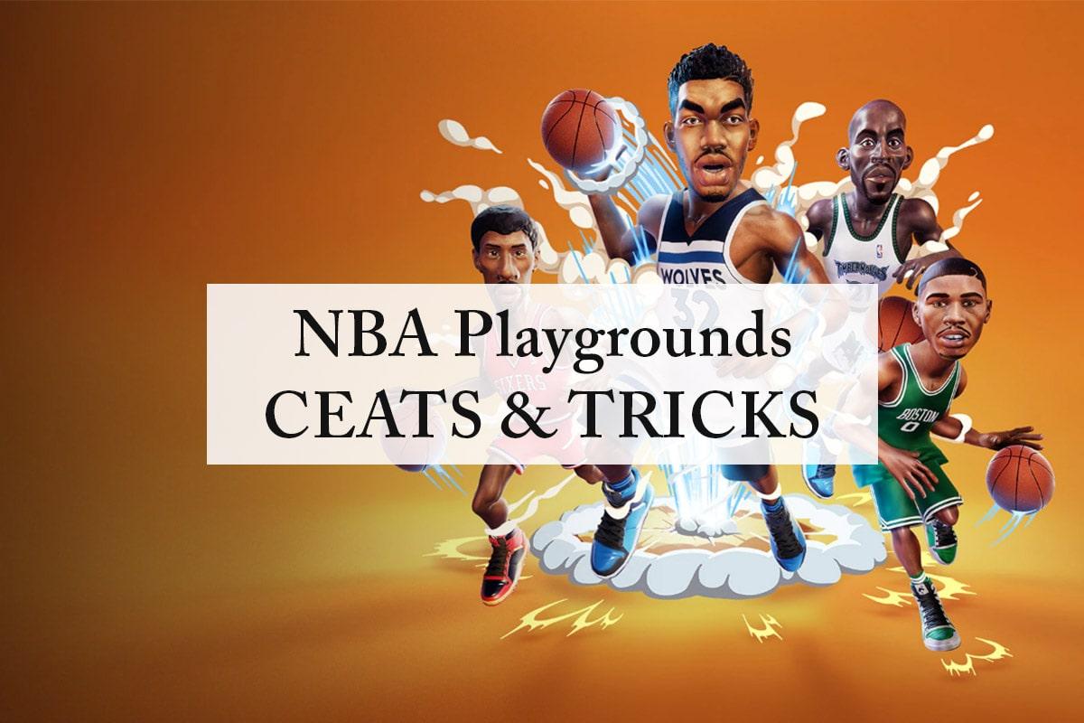 NBA Playgrounds Cheats