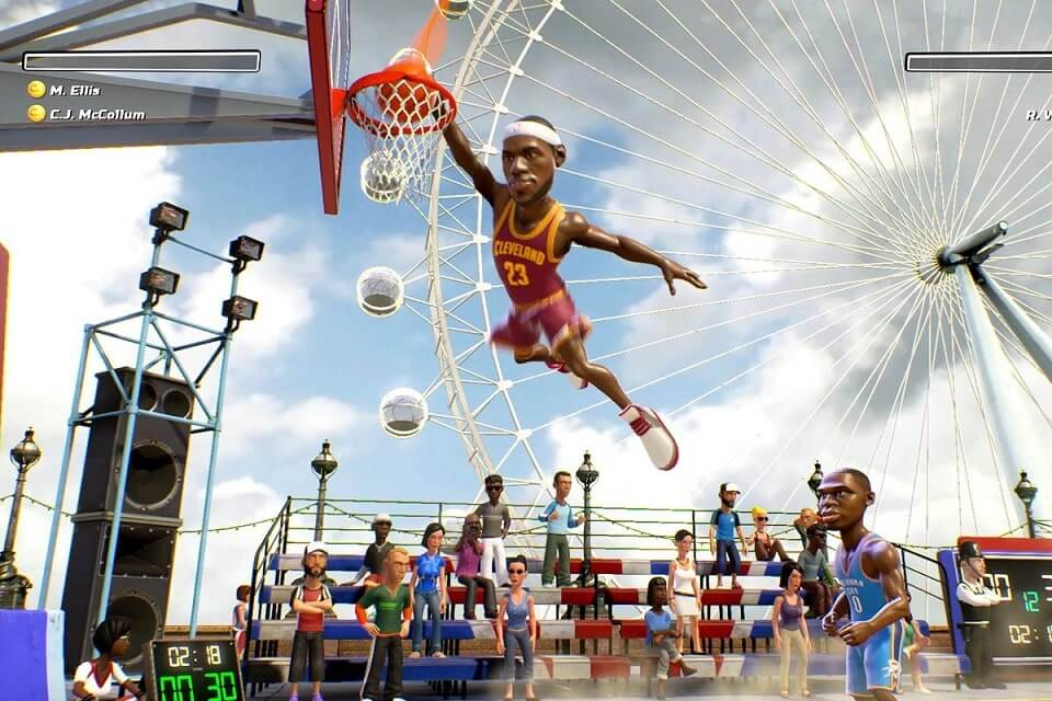 NBA Gameplay