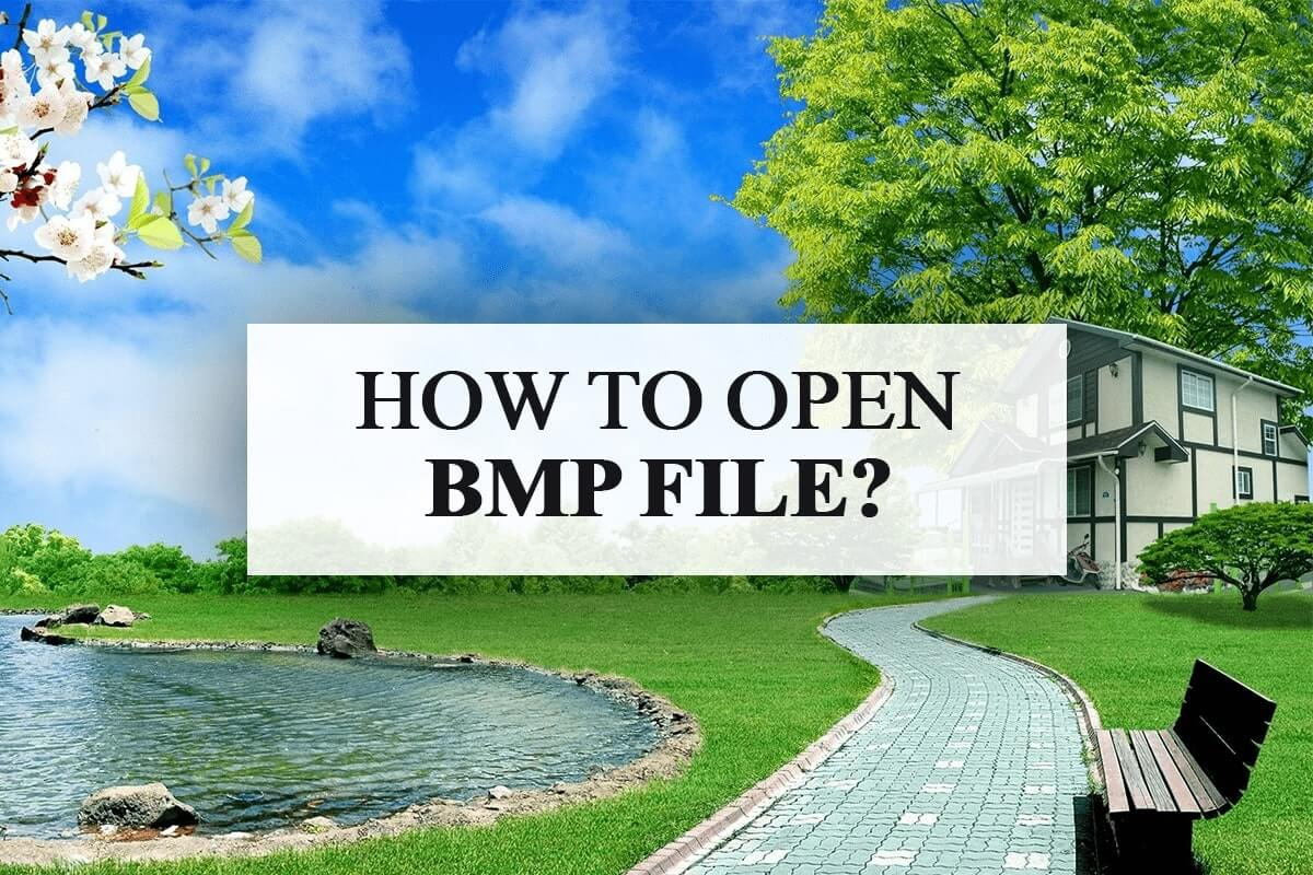 How to Open BMP File
