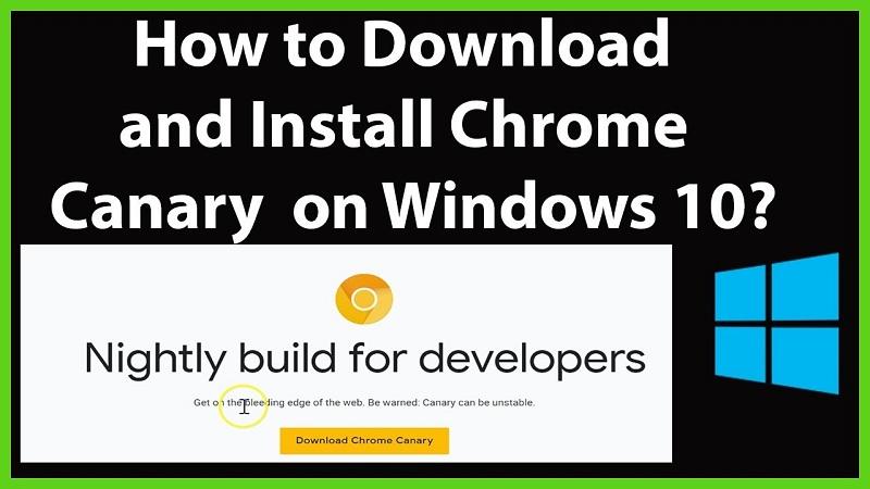 How to install Chrome canary