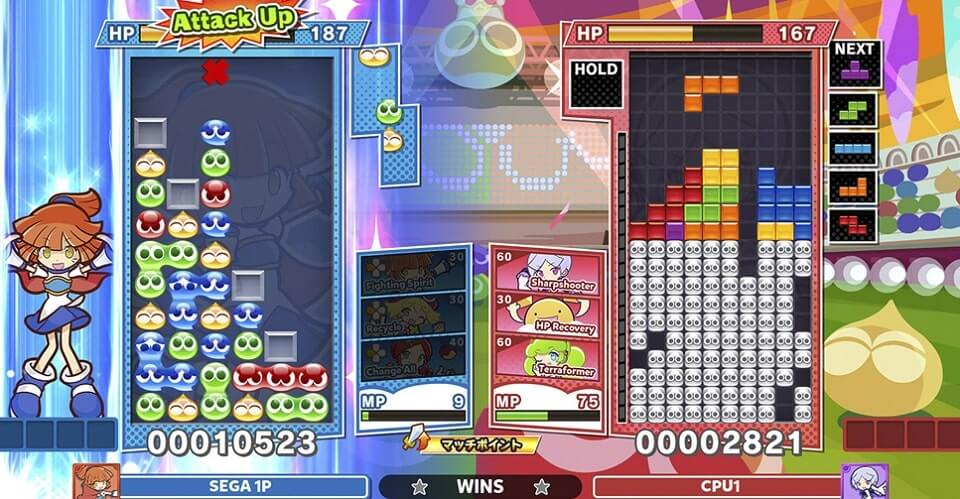 Puyo Puyo Tetris (Windows and Console)